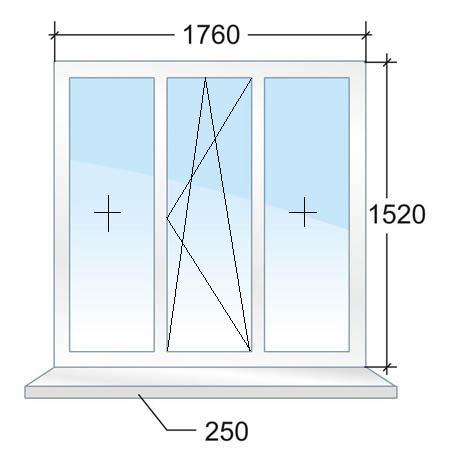 Окно с энергосберегающим стеклопакетом. Цена 10942 рубля в Санкт-Петербурге.